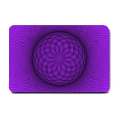 Spirograph Small Door Mat by Siebenhuehner