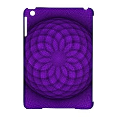 Spirograph Apple Ipad Mini Hardshell Case (compatible With Smart Cover) by Siebenhuehner