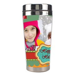 Christmas By Merry Christmas   Stainless Steel Travel Tumbler   C4jo2pgv7vwq   Www Artscow Com Center