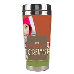 Christmas By Merry Christmas   Stainless Steel Travel Tumbler   B43bxqiobkgy   Www Artscow Com Right