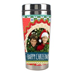 Christmas By Merry Christmas   Stainless Steel Travel Tumbler   L0uvzfqhz5ue   Www Artscow Com Center