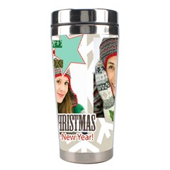 Christmas By Merry Christmas   Stainless Steel Travel Tumbler   1l9hjjin8hef   Www Artscow Com Center