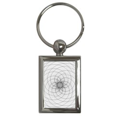 Spirograph Key Chain (rectangle) by Siebenhuehner