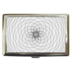 Spirograph Cigarette Money Case by Siebenhuehner