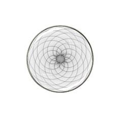 Spirograph Golf Ball Marker 4 Pack (for Hat Clip) by Siebenhuehner