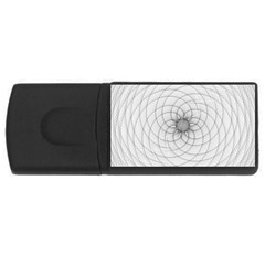 Spirograph 4gb Usb Flash Drive (rectangle) by Siebenhuehner