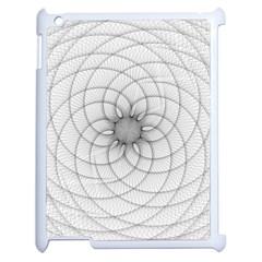 Spirograph Apple Ipad 2 Case (white) by Siebenhuehner