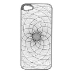 Spirograph Apple Iphone 5 Case (silver) by Siebenhuehner