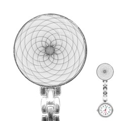 Spirograph Stainless Steel Nurses Watch by Siebenhuehner