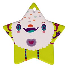 Moshi Star Ornament by Mjdaluz