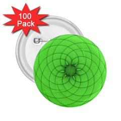 Spirograph 2 25  Button (100 Pack) by Siebenhuehner