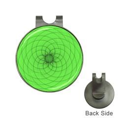 Spirograph Hat Clip With Golf Ball Marker by Siebenhuehner