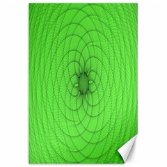 Spirograph Canvas 20  x 30  (Unframed)