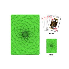 Spirograph Playing Cards (mini) by Siebenhuehner