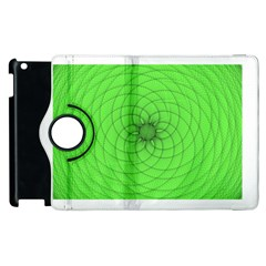 Spirograph Apple Ipad 2 Flip 360 Case by Siebenhuehner