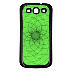 Spirograph Samsung Galaxy S3 Back Case (black) by Siebenhuehner