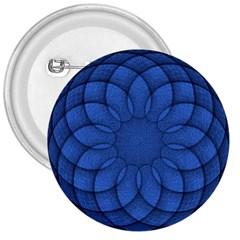 Spirograph 3  Button by Siebenhuehner