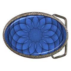 Spirograph Belt Buckle (oval) by Siebenhuehner