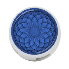 Spirograph 4 Port Usb Hub (two Sides) by Siebenhuehner
