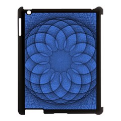 Spirograph Apple Ipad 3/4 Case (black) by Siebenhuehner