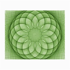 Spirograph Glasses Cloth (small, Two Sided) by Siebenhuehner