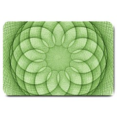 Spirograph Large Door Mat by Siebenhuehner