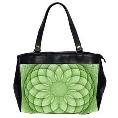 Spirograph Oversize Office Handbag (two Sides) by Siebenhuehner