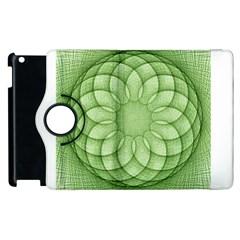 Spirograph Apple Ipad 2 Flip 360 Case by Siebenhuehner