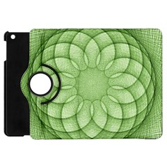 Spirograph Apple Ipad Mini Flip 360 Case by Siebenhuehner