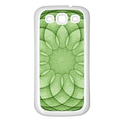Spirograph Samsung Galaxy S3 Back Case (white) by Siebenhuehner