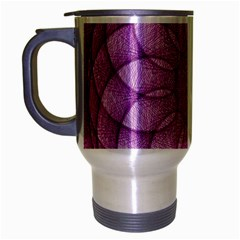 Spirograph Travel Mug (silver Gray) by Siebenhuehner