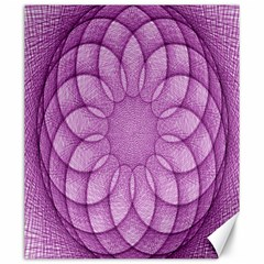 Spirograph Canvas 20  X 24  (unframed) by Siebenhuehner