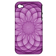 Spirograph Apple Iphone 4/4s Hardshell Case (pc+silicone) by Siebenhuehner