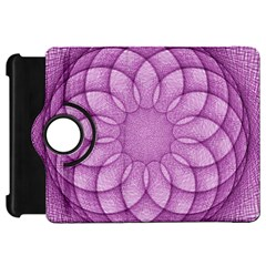 Spirograph Kindle Fire Hd 7  Flip 360 Case by Siebenhuehner