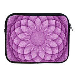 Spirograph Apple Ipad 2/3/4 Zipper Case by Siebenhuehner
