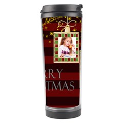 Merry Christmas By Joely   Travel Tumbler   M952wivzdlu9   Www Artscow Com Center