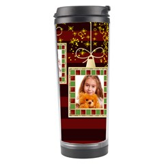 Merry Christmas By Joely   Travel Tumbler   M952wivzdlu9   Www Artscow Com Right