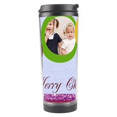 Merry Christmas By Joely   Travel Tumbler   I2xxvikxv00k   Www Artscow Com Center