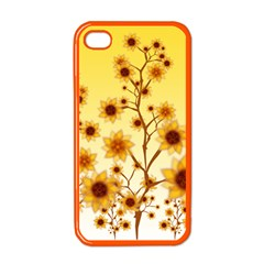 Sunflower Cheers Apple Iphone 4 Case (color) by doodlelabel