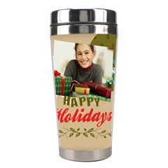 Christmas By Merry Christmas   Stainless Steel Travel Tumbler   5e54l1w78c7e   Www Artscow Com Center