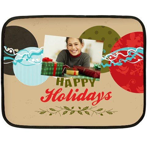 Chriustmas By Merry Christmas   Fleece Blanket (mini)   Pb0z6sm3suj0   Www Artscow Com 35 x27 Blanket