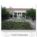 4 - Wall Calendar 11  x 8.5  (12-Months)