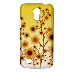 Sunflower Cheers Samsung Galaxy S4 Mini Hardshell Case  by doodlelabel