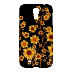 Sunflower Cheers Samsung Galaxy S4 I9500/i9505 Hardshell Case by doodlelabel