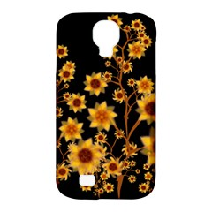 Sunflower Cheers Samsung Galaxy S4 Classic Hardshell Case (pc+silicone) by doodlelabel