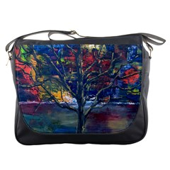 Stainglass Cliffs Messenger Bag