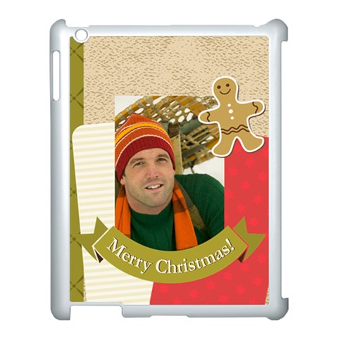 Merry Christmas By Merry Christmas   Apple Ipad 3/4 Case (white)   Gcmyfqtd2zmg   Www Artscow Com Front