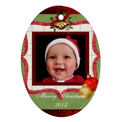 Christmas Ornament By Rose Huggett Front