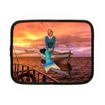 mermaid tablet case - Netbook Case (Small)