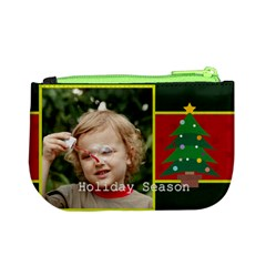 Merry Christmas By M Jan   Mini Coin Purse   6cn2nnreh36j   Www Artscow Com Back